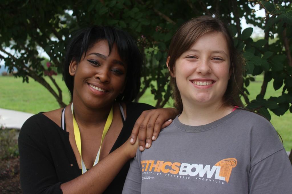 Jackie and Rebekkah- current Urban Scholars